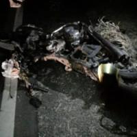 Acidente envolvendo carro e moto deixa uma vítima fatal na BR-122 em Pindaí. - Foto 1