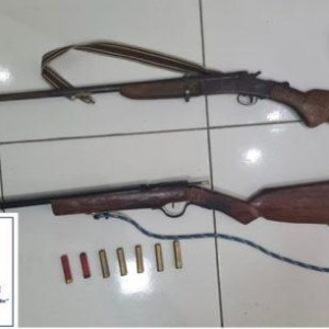Cipe Sudoeste apreende armas em Pindaí.