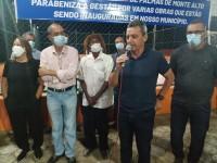 Deputado Charles participa de inaugurações, anuncia recursos e reafirma parcerias em Palmas de Monte Alto e Riacho de Santana.