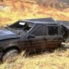 Homem fica ferido após carro capotar na BR-030 em Palmas de Monte Alto.