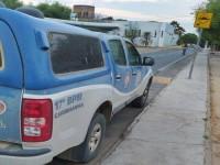 Homicida é preso após agredir policial militar em Carinhanha.
