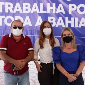 Iniciadas obras de energia elétrica em Sebastião Laranjeiras.