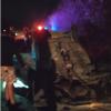Motorista perde controle de direção e carro capota na BR-030 em Palmas de Monte Alto.