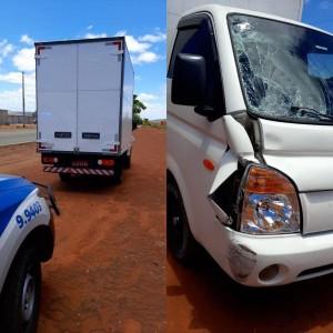 Motorista suspeito de atropelar idoso em Guanambi é preso em Igaporã.
