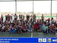 Secretaria de Assistência Social leva alegria à criançada do Mocó.