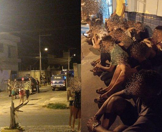 GUANAMBI: Em pleno surto de Coronavírus, Policia Militar termina festa em residência com 62 pessoas.