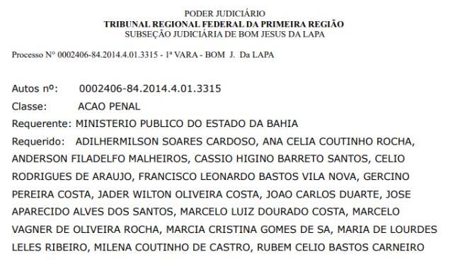 """Carinhanha: vice-prefeito e secretário municipal serão ouvidos acusados envolvimento na """"Operação Corcel Negro""""."""