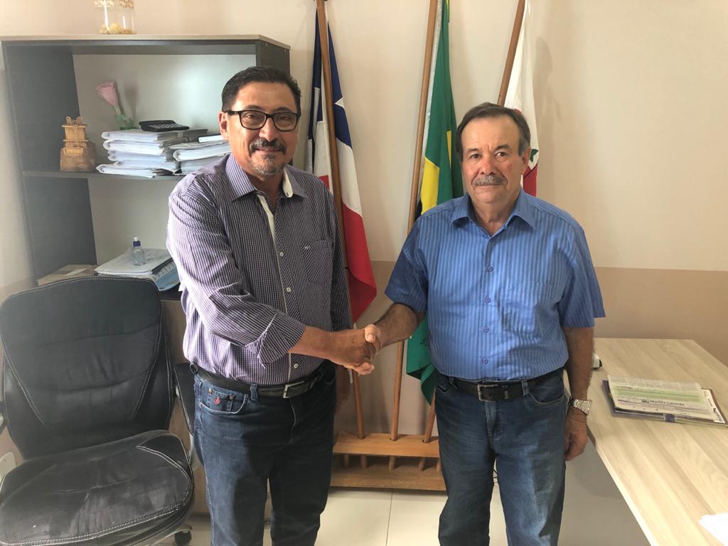 Prefeito Dezin confirma pré-candidatura de Anselmo à prefeitura de Malhada.