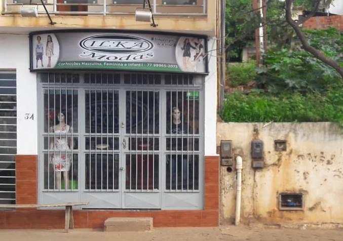 Caetité: Elemento entra em loja de roupas e assalta duas funcionárias.