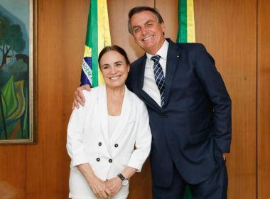 Nomeação de Regina Duarte é publicada no Diário Oficial da União.