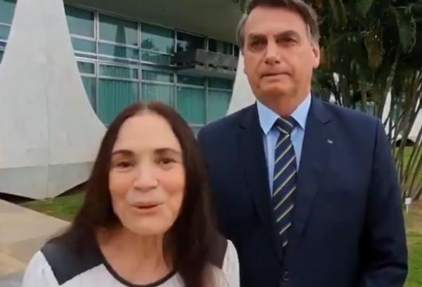Regina Duarte deixa comando da Secretaria Especial de Cultura.