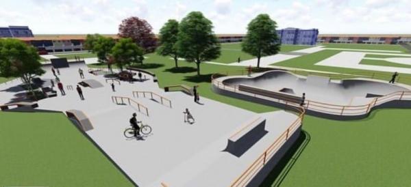 Prefeitura de Guanambi abre licitação para construção de pista de skate e patins.