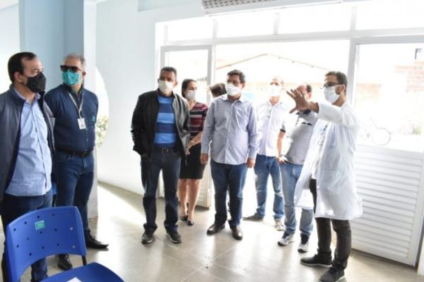 Prefeitura de Guanambi amplia leitos na UPA em parceria com a FIP Guanambi.