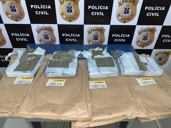 Esquema de drogas via Sedex foi desmontado pela Polícia Civil de VCA.