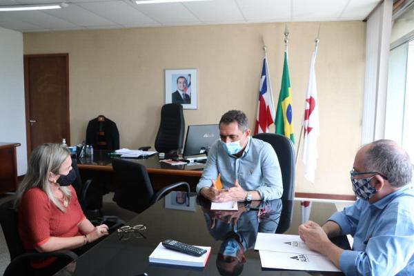 Ivana busca investimentos para a ampliação da oferta hídrica nos municípios.