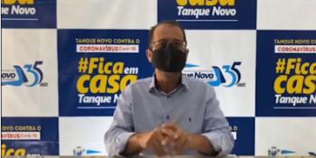 Tanque Novo confirma primeiro caso de coronavírus.