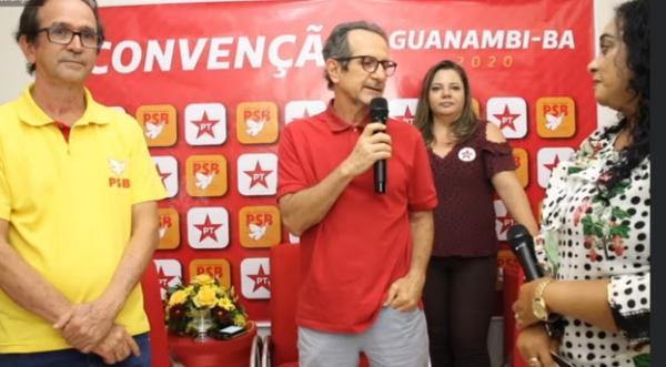 Convenções Municipais 2020: Dr. Ruy Azevedo declara apoio a Valda do PT e Dr. Luia (PSB) em Guanambi.