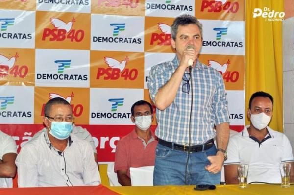 Convenção confirma candidatura de Dr. Pedro e Nozinho à prefeitura de Sebastião Laranjeiras.