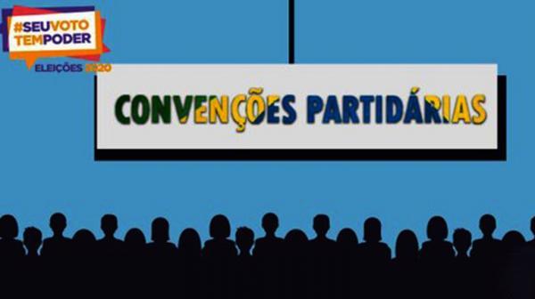 Convenções partidárias podem ser realizadas a partir desta segunda-feira (31).