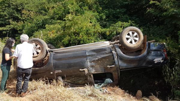 Ex-deputado Márcio Oliveira sofre acidente na BA-156 em Caetité