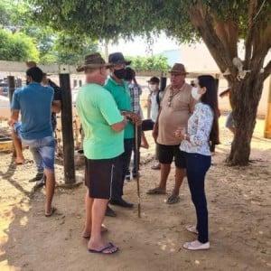 Secretaria de Desenvolvimento Econômico faz visita ao Parque de Comercialização de Animais de Caetité.
