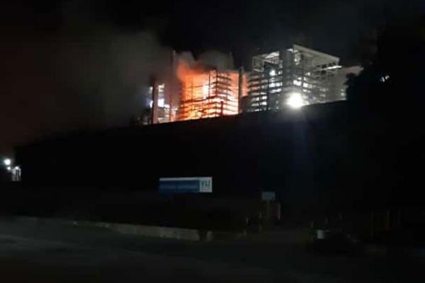 Forno da empresa Magnesita explode em Brumado.