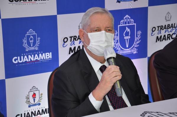 PA Covid atinge lotação máxima e prefeito Nilo Coelho tomará providências urgentes para ampliar número de leitos clínicos.