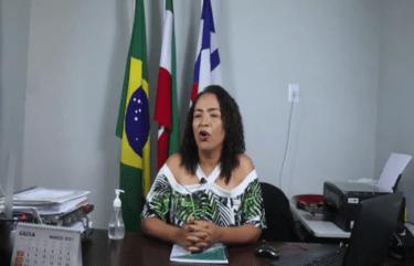 Secretária de Educação de Iuiu anuncia início das aulas.