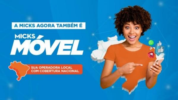 Micks lança serviço de telefonia e se torna operadora de celular para todo o Brasil.
