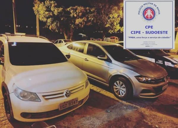Homem é preso com veículos adulterados em Palmas de Monte Alto.