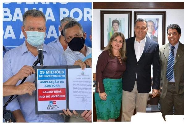 Autorizado início das obras de ampliação da adutora para Lagoa Real e Ibitira.