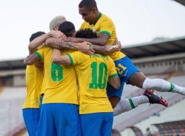 Seleção brasileira olímpica vence Sérvia por 3 a 0 em último amistoso antes de Tóquio.