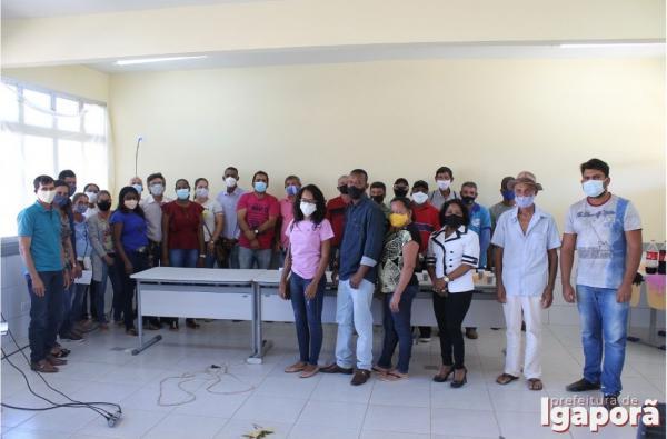 A Prefeitura de Igaporã amplia o diálogo com as associações rurais do município.