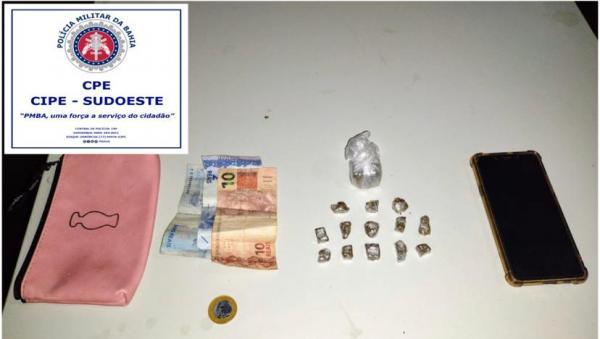 Homem é preso com drogas na zona rural de Malhada.