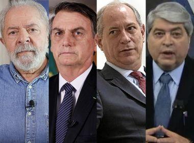 Paraná Pesquisas: Lula e Bolsonaro aparecem empatados, mas petista venceria no 2º turno.