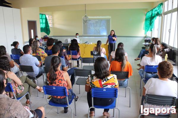 Secretaria de Educação de Igaporã inova para superar as limitações causadas pela pandemia de Covid-19.