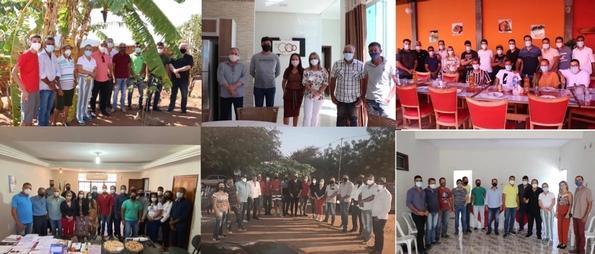 Ivana Bastos cumpre agenda de trabalho por municípios baianos.
