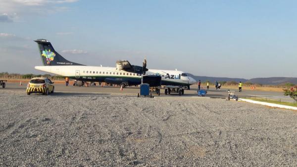 Azul cancela voos em Guanambi no feriado de Nossa Senhora Aparecida.
