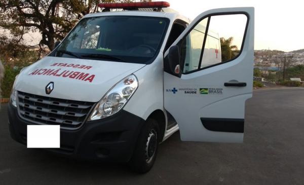 Idoso de 77 anos é preso por furtar ambulância no interior de Minas Gerais.