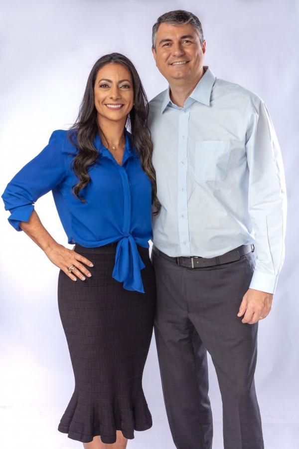 Pré-candidatura de Ana Patrícia e Carlos Tourinho para OAB-BA discute projeto de gestão da entidade com advogados de Guanambi e região.